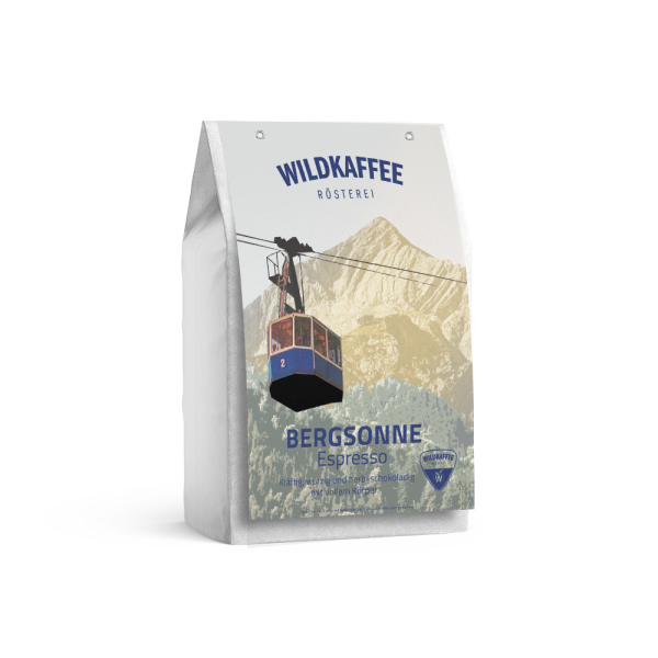 Wildkaffee Rösterei, Bergsonne Espresso