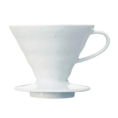 Hario Keramikhandfilter V60 Dripper 02 weiß