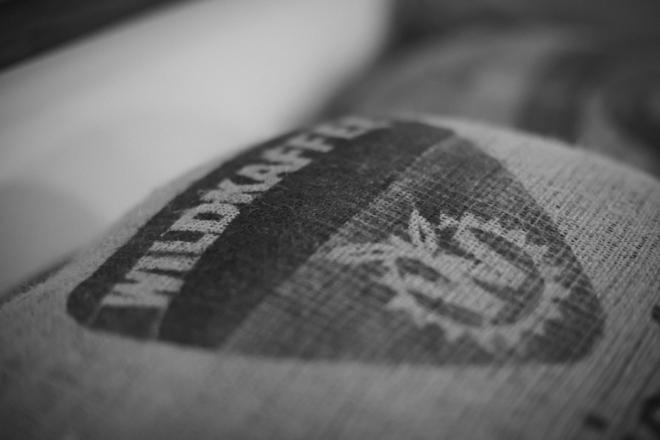 Wildkaffee Logo Kaffeesack