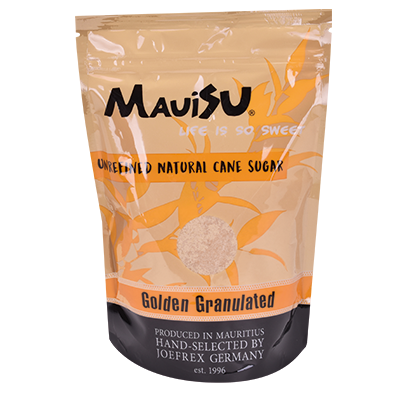 MauiSu Golden Granulated Rohrzucker 500g Beutel