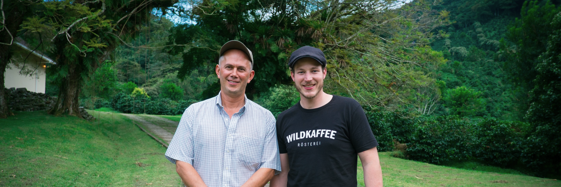 Wildkaffee mit Farmer in Panama