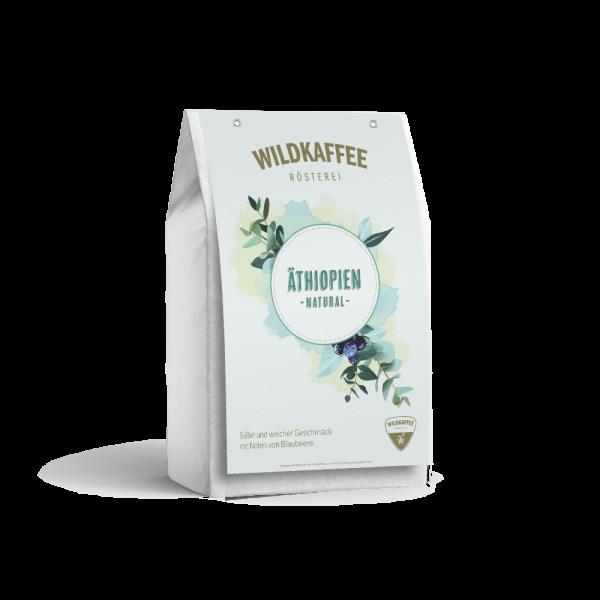Wildkaffee Rösterei, Äthiopien Natural - Filterkaffee