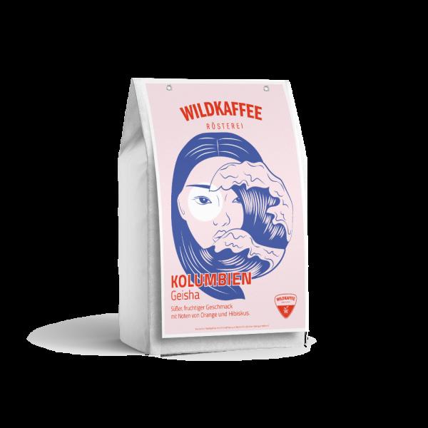 Wildkaffee Rösterei, Kolumbien Geisha