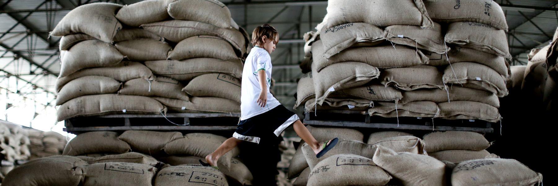 Burundi - Rohkaffeelager