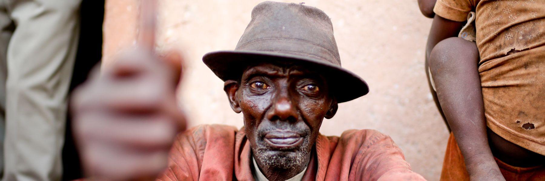 Kaffee-Farmer Burundi